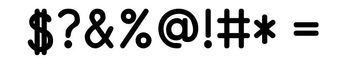 PrimerPrint-Bold Font OTHER CHARS