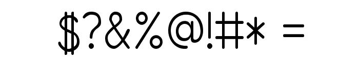 PrimerPrint-Regular Font OTHER CHARS