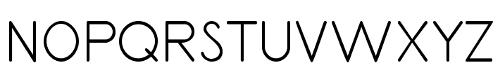 PrimerPrint-Regular Font UPPERCASE