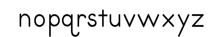 PrimerPrint-Regular Font LOWERCASE