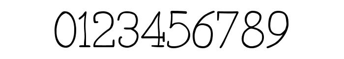 Primitiva Slab Light Font OTHER CHARS
