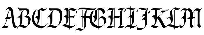 Prince Valiant Font UPPERCASE