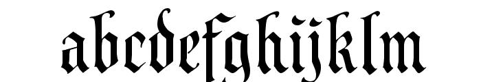 Prince Valiant Font LOWERCASE