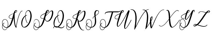 Princella-Bold Font UPPERCASE