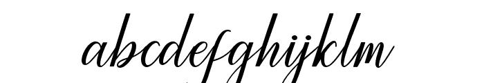 Princella-Bold Font LOWERCASE