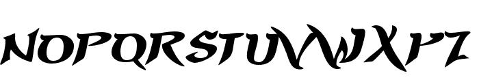 PrinceofPersia-Regular Font LOWERCASE