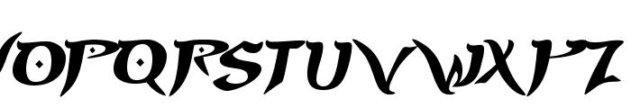 PrinceofPersia Font UPPERCASE