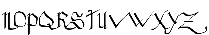 Princess Lulu Font UPPERCASE
