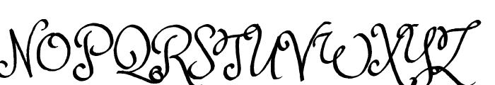 Princess Sofia Font UPPERCASE