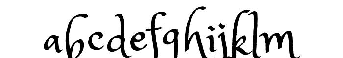 Princess Sofia Font LOWERCASE