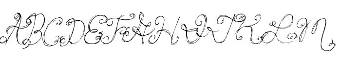 PrincessCake Font UPPERCASE
