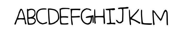 PrincessDaisy Font UPPERCASE