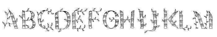Pring San Sedapur Font UPPERCASE
