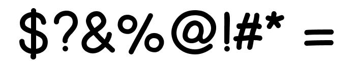PrinsesstartaBoldDEMO Font OTHER CHARS