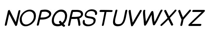 PrinsesstartaBoldItalicDEMO Font UPPERCASE