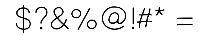 PrinsesstartaLightDEMO Font OTHER CHARS