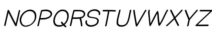 PrinsesstartaMediumItalicDEMO Font UPPERCASE