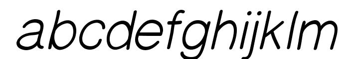 PrinsesstartaMediumItalicDEMO Font LOWERCASE