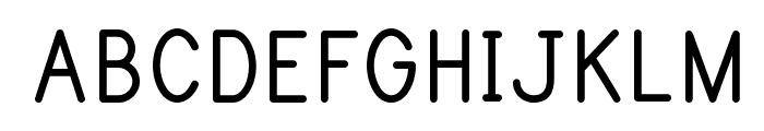 Print Bold Font UPPERCASE
