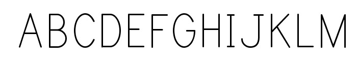 Print Clearly Font UPPERCASE