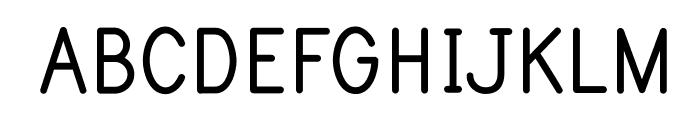 PrintBoldOT Font UPPERCASE