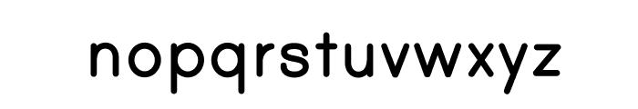 PrintBoldOT Font LOWERCASE