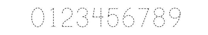 PrintDashedOT Font OTHER CHARS