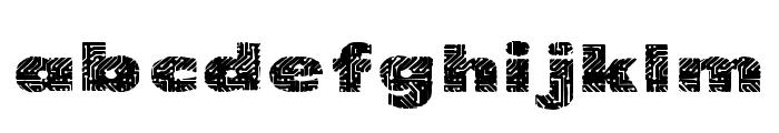 PrintedCircuit Font LOWERCASE