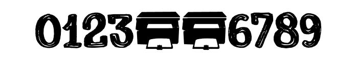 Printout DEMO Regular Font OTHER CHARS