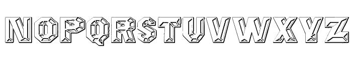 Prismatica Font UPPERCASE