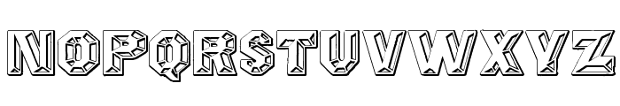 Prismatica Font LOWERCASE