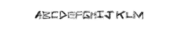 PrisonBreak Font UPPERCASE