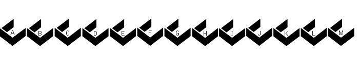 PrisonBricks Font UPPERCASE