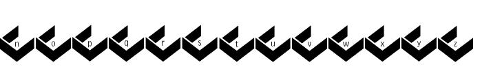 PrisonBricks Font LOWERCASE