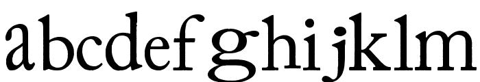 Prissy Frat Boy Font LOWERCASE
