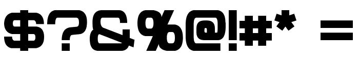 Probert Black Font OTHER CHARS