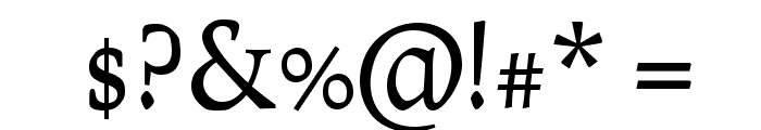 Prociono TT Font OTHER CHARS
