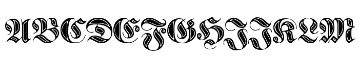 Proclamate Incised Heavy Font UPPERCASE