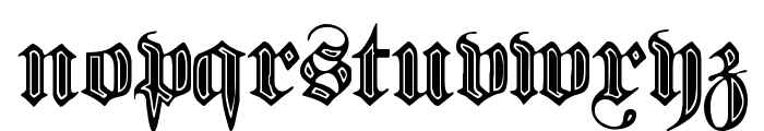 Proclamate Incised Heavy Font LOWERCASE