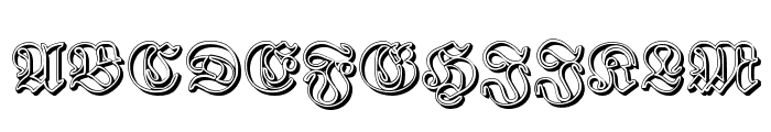 Proclamate Ribbon Heavy Font UPPERCASE