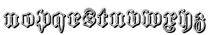 Proclamate Ribbon Heavy Font LOWERCASE