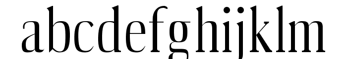 Producer Regular Font LOWERCASE