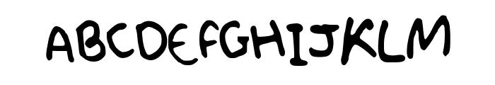 ProfessorShroom Font UPPERCASE