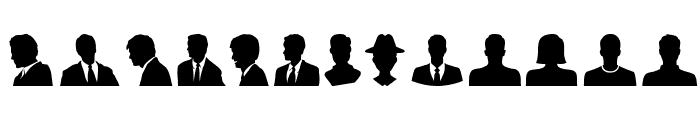 Profile Font UPPERCASE