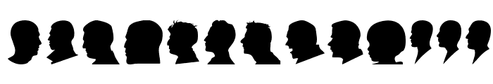 Profile Font LOWERCASE