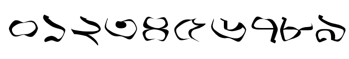 Progoty Warp Font OTHER CHARS