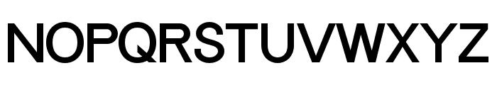 Progress-ORDIN Font UPPERCASE