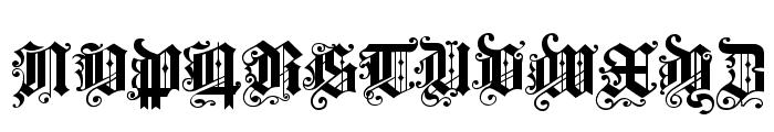 ProgressiveText Font UPPERCASE