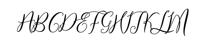 PrologueScriptLite-Regular Font UPPERCASE