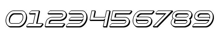 Promethean 3D Italic Font OTHER CHARS